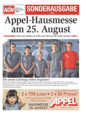 Titelblatt NÖN Extra Waldviertel