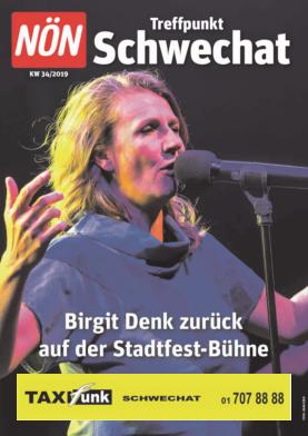Titelblatt NÖN Akzidenz Suedost
