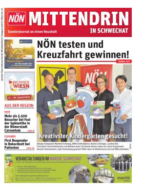 Titelblatt NÖN Postwurf Schwechat