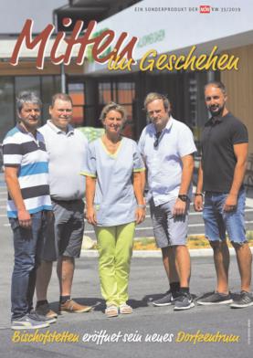 Titelblatt NÖN Akzidenz Mostviertel