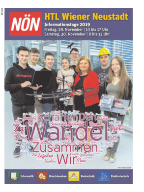 Titelblatt NÖN Extra Wr. Neustadt