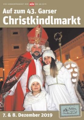 Titelblatt NÖN Garser Christkindlmarkt
