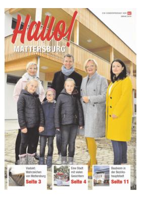 Titelblatt NÖN Extra Mattersburger