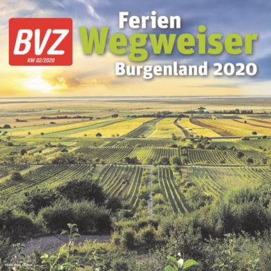 Titelblatt NÖN Ferienwegweiser Burgenland