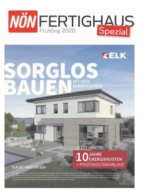 Titelblatt NÖN Fertighaus Spezial