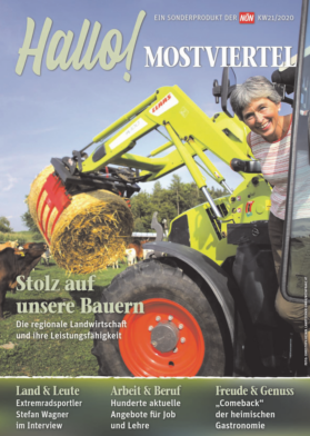 Titelblatt NÖN Heimat Niederoesterreich
