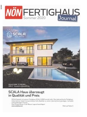 Titelblatt NÖN Fertighaus Journal