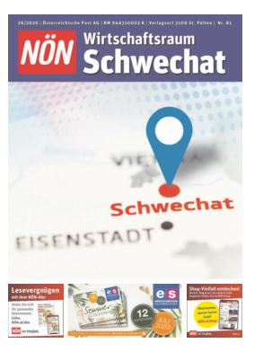 Titelblatt NÖN Extra Schwechat