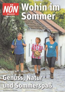 Titelblatt NÖN Wohin-Weinviertel