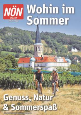 Titelblatt NÖN Wohin-Sued