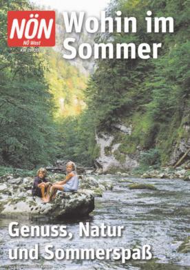 Titelblatt NÖN Wohin-West