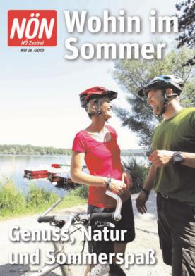 Titelblatt NÖN Wohin-Zentral