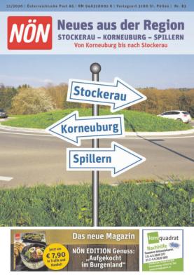 Titelblatt NÖN Akzidenz Nord