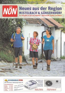 Titelblatt NÖN Akzidenz Ost